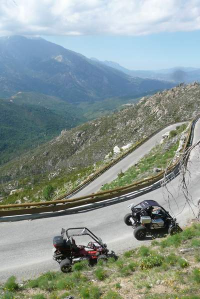 Le buggy trophy 2009 ; la Corse Troph232