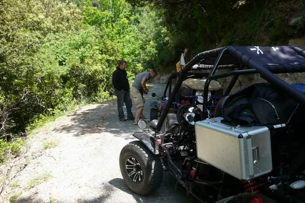 Le buggy trophy 2009 ; la Corse Troph241