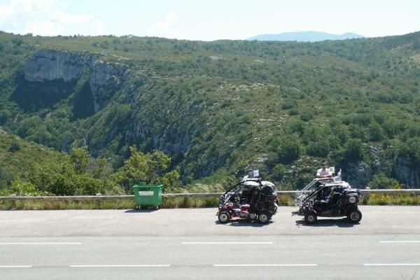 Le buggy trophy 2009 ; la Corse Troph273