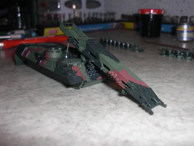 Brückenlegerpanzer Biber (Revell 1/72) 00810