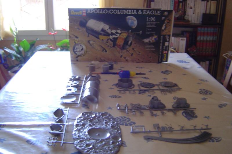 """maquette Revell """"Apollo: Columbia & Eagle"""" Dsc02512"""