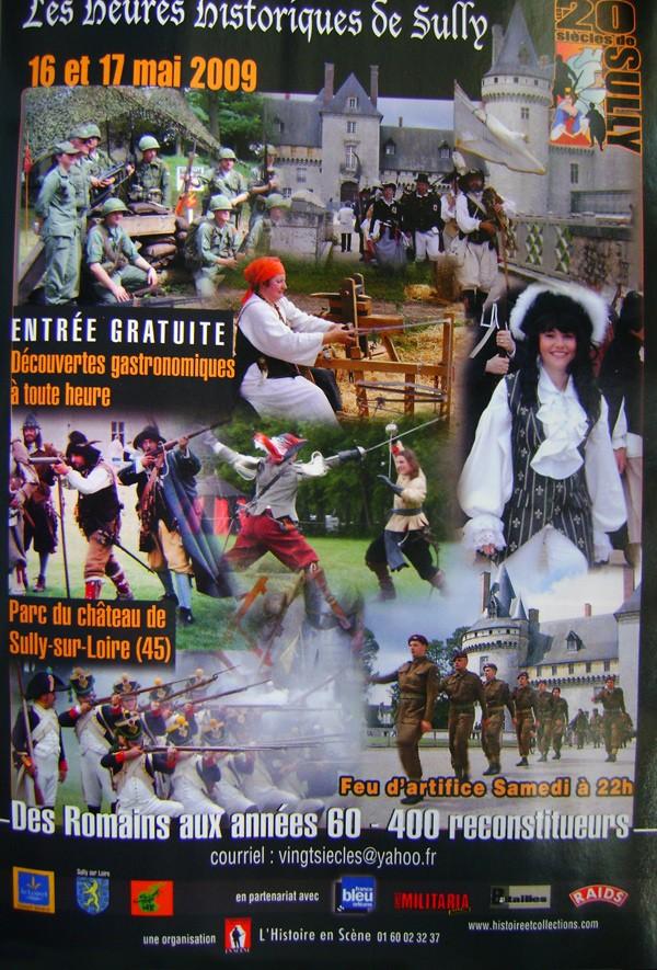 16-17 mai 2009, les heures historiques de Sully !!! Sully210