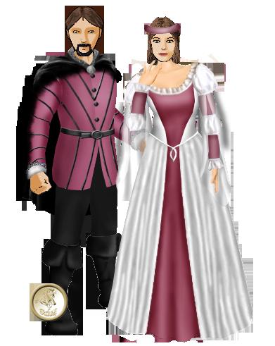 Mariage de Paillard et Tiamarys (22 octobre 1457) Couple31
