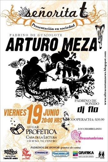 Arturo Meza en Puebla Cartel11