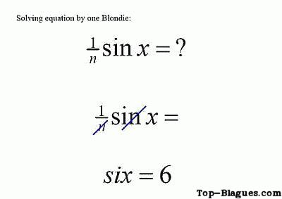 La vérité sur les blondes ! ! ! Equati10