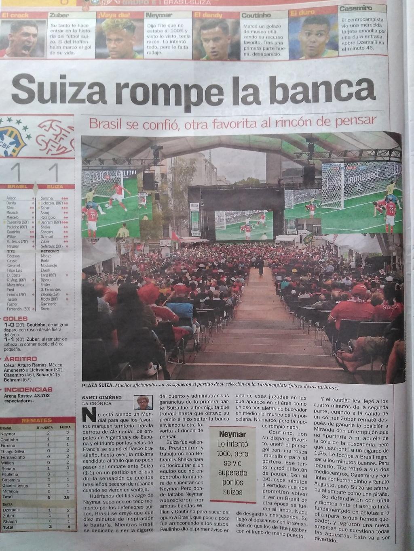 Crónica As Brasil 1 Suiza 1 Img_2020