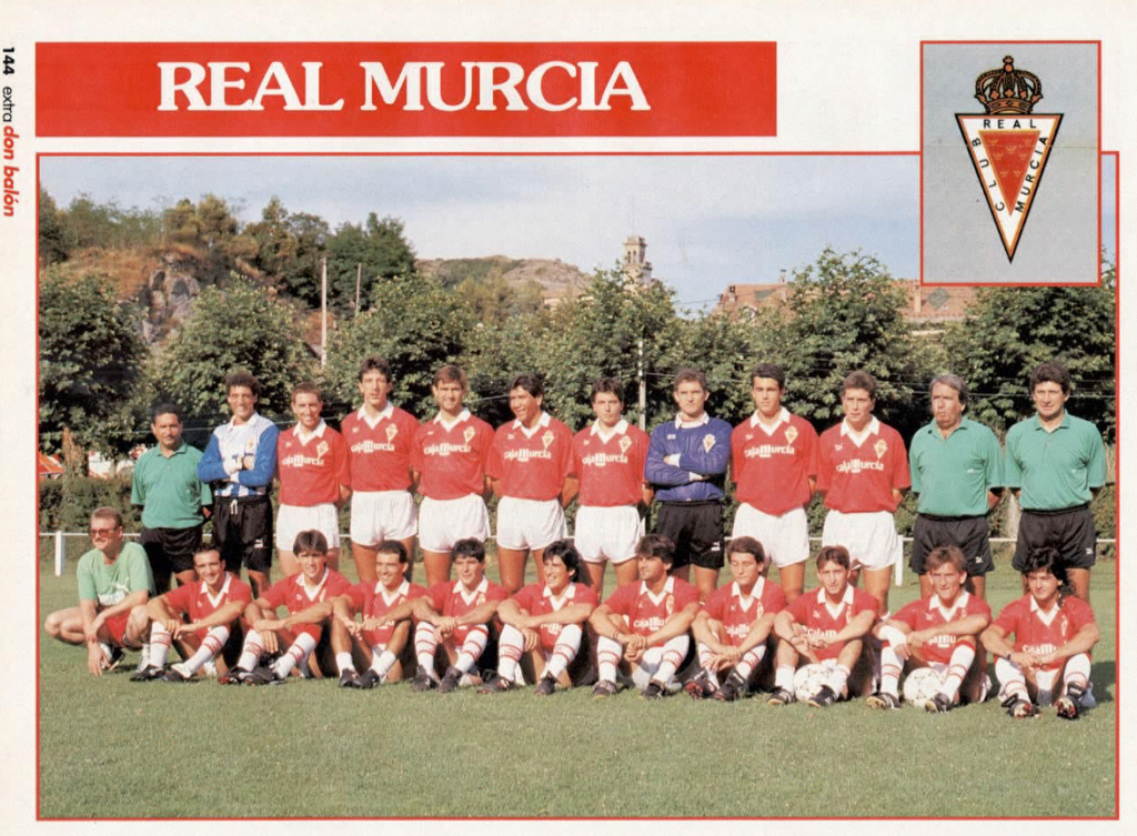 REAL MURCIA 91-92 Murcia15
