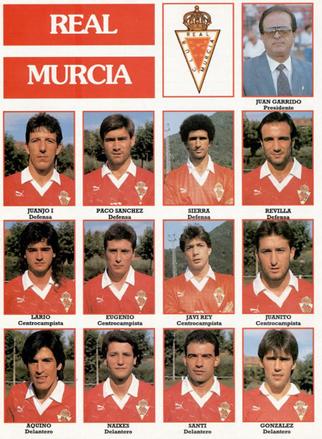 REAL MURCIA 91-92 Murcia16
