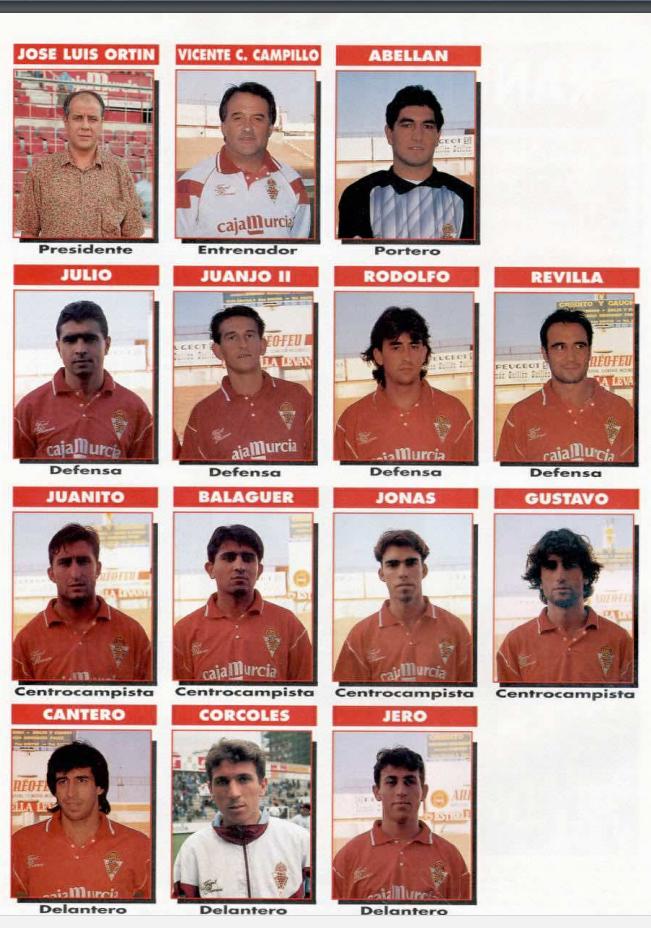 REAL MURCIA 93-94 Murcia20