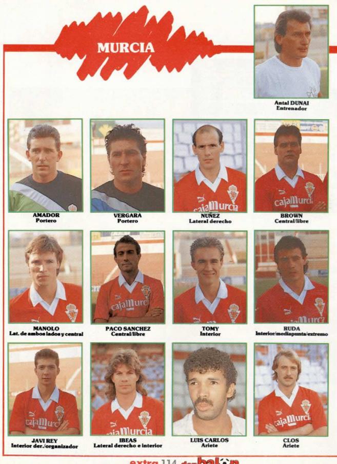 REAL MURCIA 88-89 Murcia21