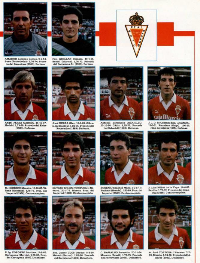 REAL MURCIA 89-90 Murcia24