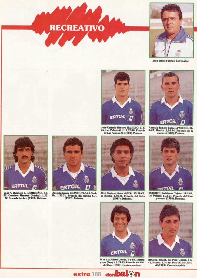 RECREATIVO DE HUELVA 88-89 Recre10