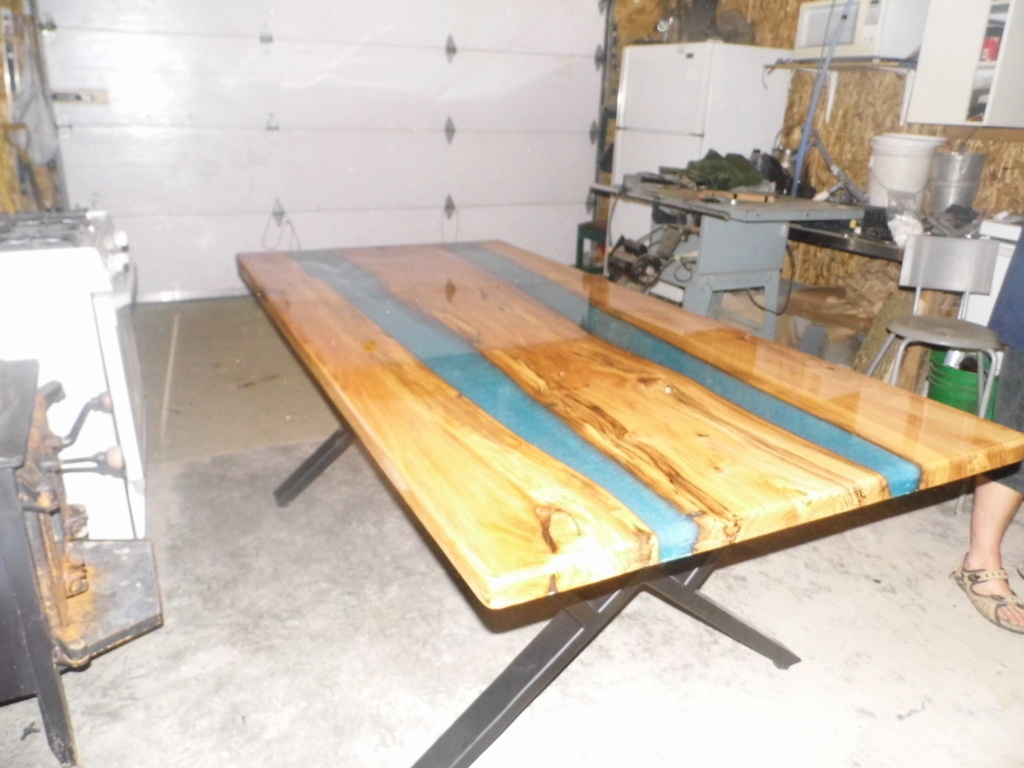 table live edge  Table411