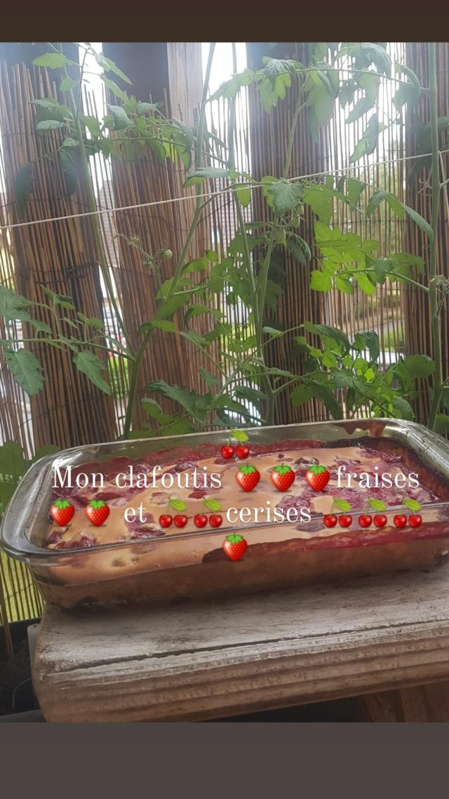 Clafoutis aux cerises et fraises  Img_2049
