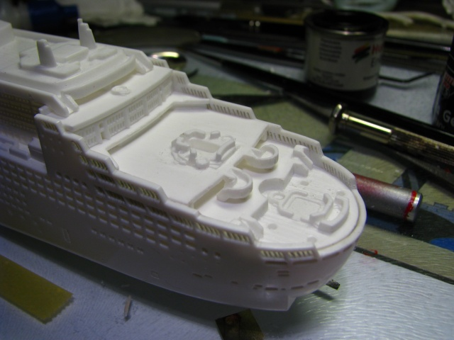 RMS QUEEN MARY 2  *Revell 1/1200* Nsr_0053