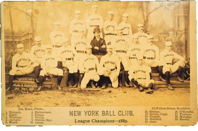 Early Teams 1889ny10
