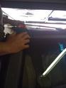 Montage d'une rampe de feux de toit sur un Hummer H3 Img_0227