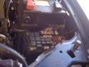 Montage d'une rampe de feux de toit sur un Hummer H3 Img_0231