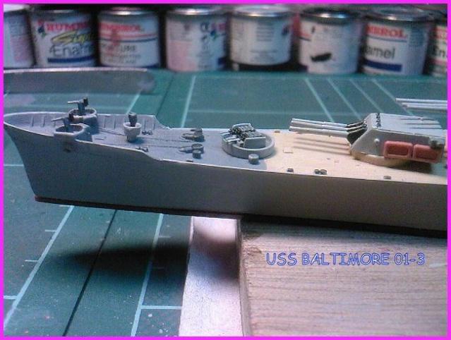 LE USS BALTIMORE CA-68 DE CHEZ TROMPETER AU 700 Uss_ba12