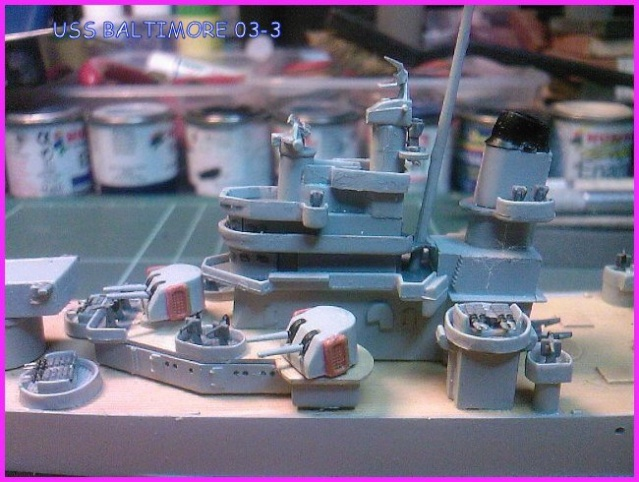 LE USS BALTIMORE CA-68 DE CHEZ TROMPETER AU 700 Uss_ba13