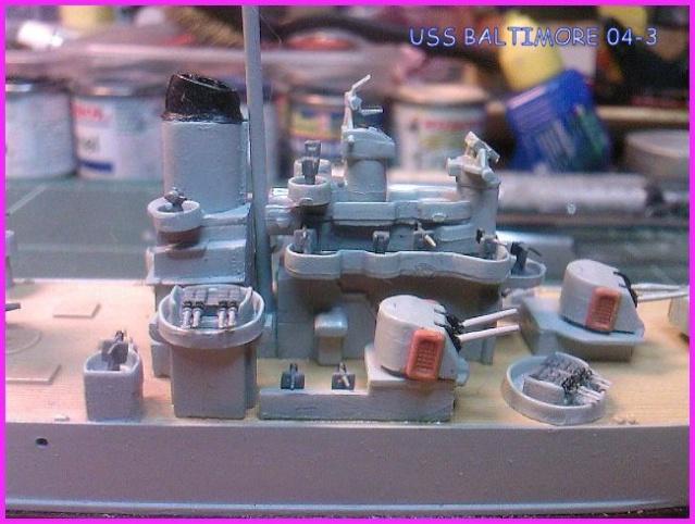 LE USS BALTIMORE CA-68 DE CHEZ TROMPETER AU 700 Uss_ba14