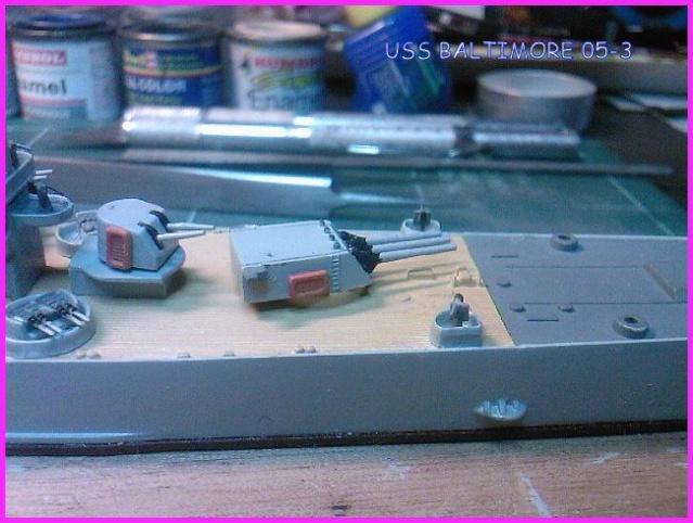 LE USS BALTIMORE CA-68 DE CHEZ TROMPETER AU 700 Uss_ba15