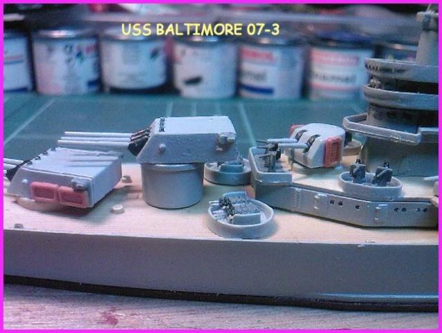 LE USS BALTIMORE CA-68 DE CHEZ TROMPETER AU 700 Uss_ba17