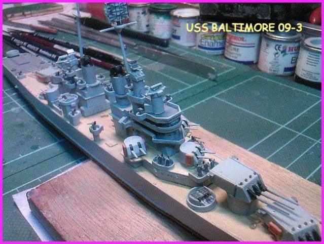LE USS BALTIMORE CA-68 DE CHEZ TROMPETER AU 700 Uss_ba19