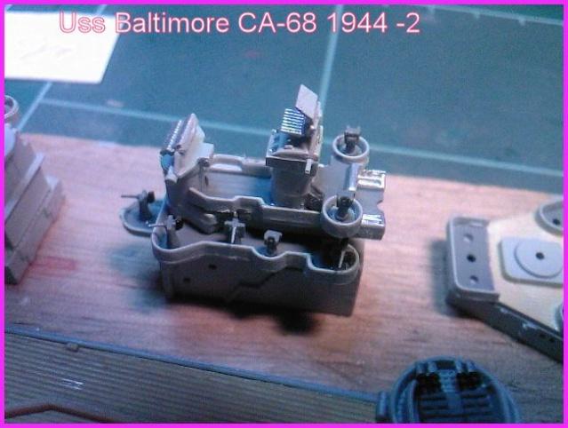 LE USS BALTIMORE CA-68 DE CHEZ TROMPETER AU 700 Ussbal20