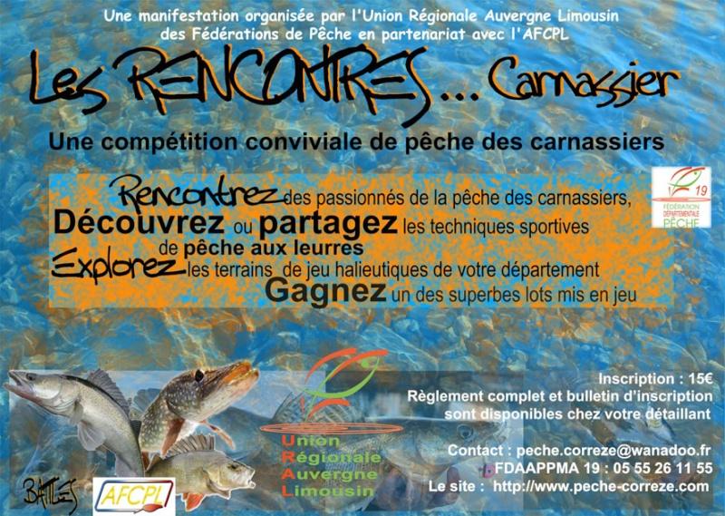 Les Rencontres Carnassier Affich10
