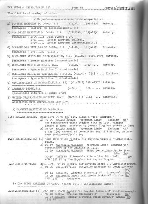 MALLES DU CONGO 01710