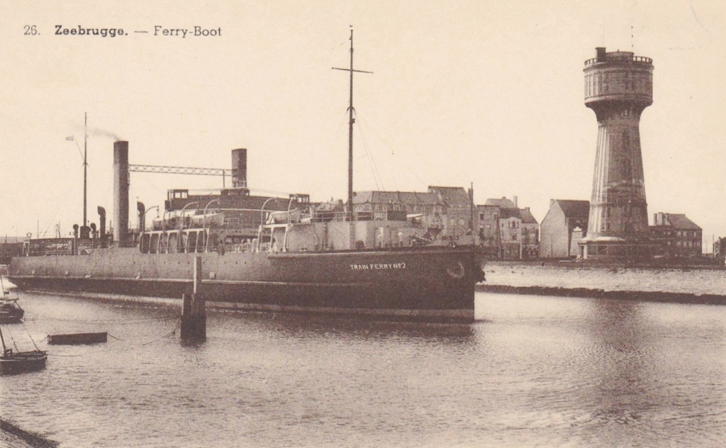 Zeebrugge : les ferry boats Train_10