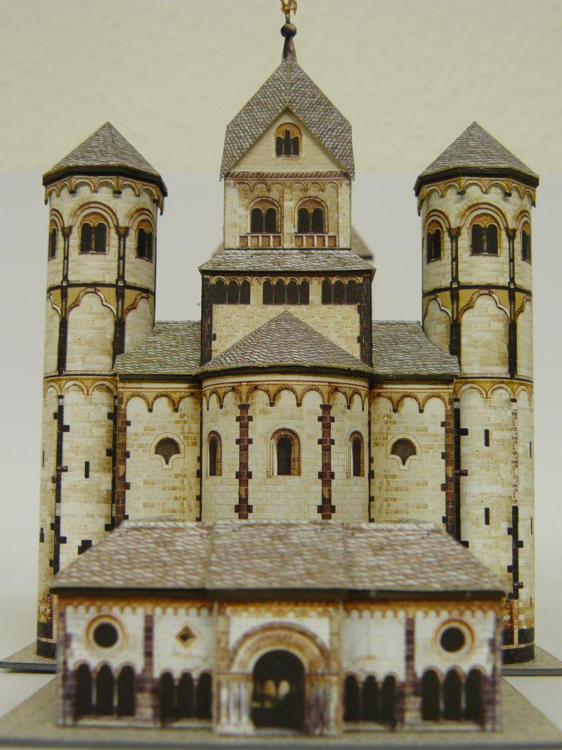 Abtei Maria Laach, Schreiber-Bogen 1:300 Archit13