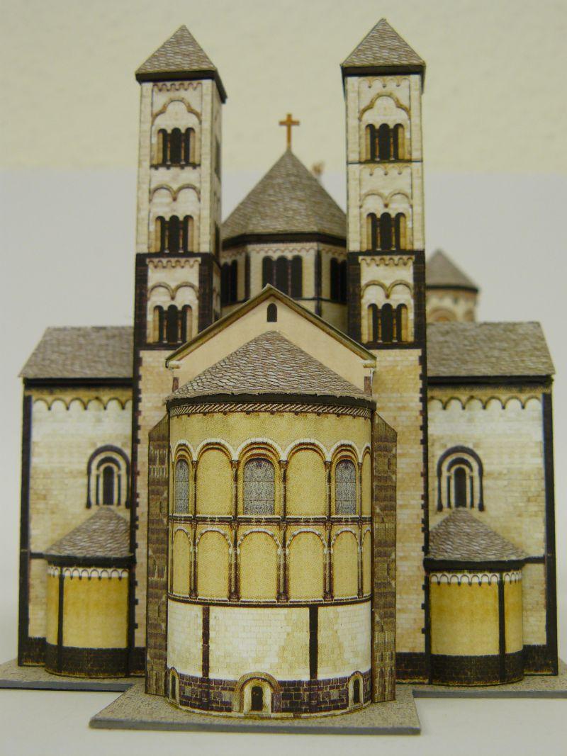 Abtei Maria Laach, Schreiber-Bogen 1:300 Archit14