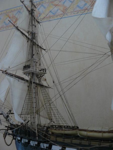 USS Constitution 1:96 von Revell P1010615