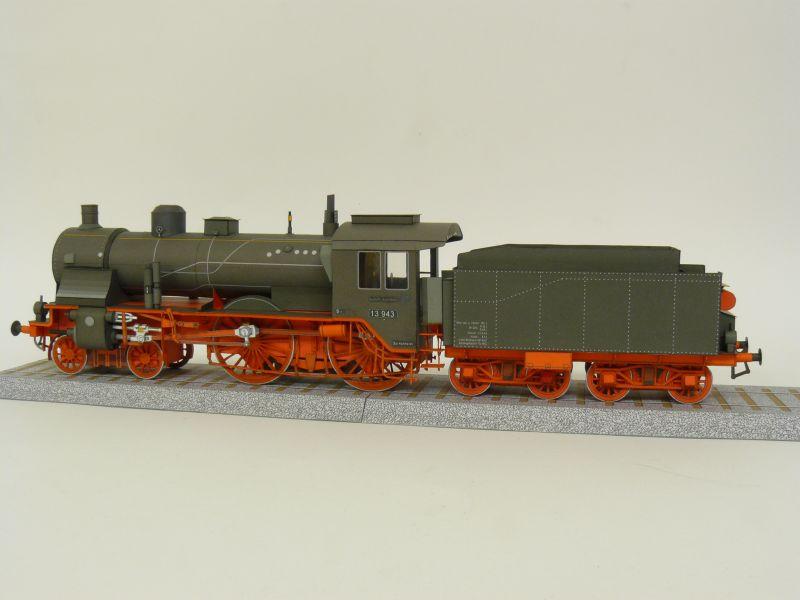Preussische S 6 mit Tender, Pirling Modell, M 1:45 S6_gal10