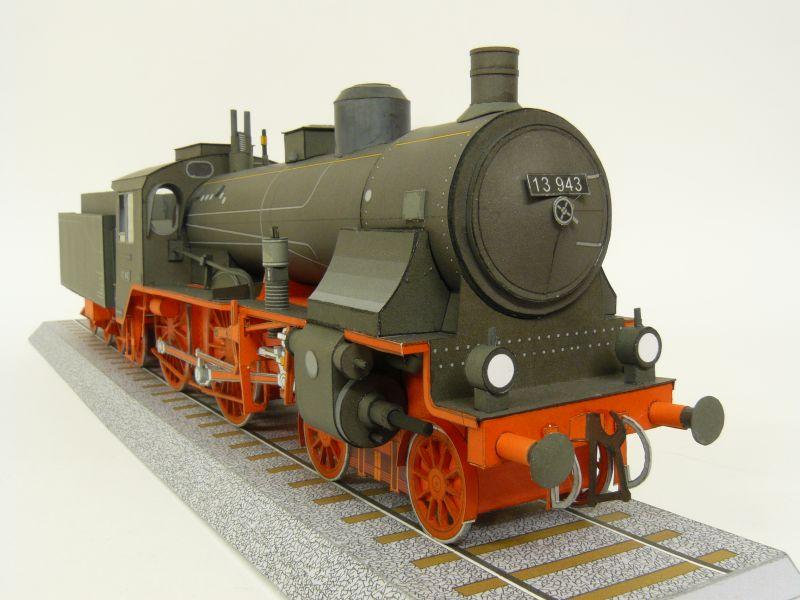 Preussische S 6 mit Tender, Pirling Modell, M 1:45 S6_gal12