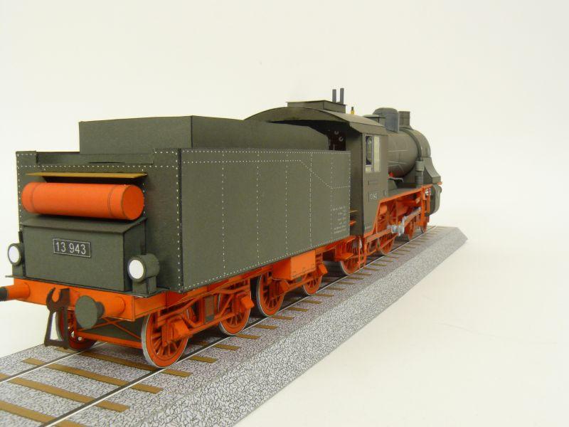 Preussische S 6 mit Tender, Pirling Modell, M 1:45 S6_gal13