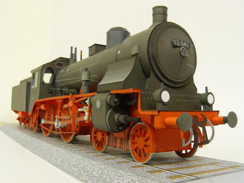 Preussische S 6 mit Tender, Pirling Modell, M 1:45 S6_gal15