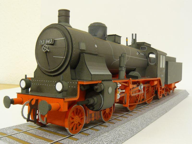 Preussische S 6 mit Tender, Pirling Modell, M 1:45 S6_gal16