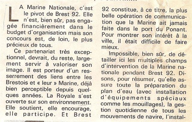 [Les ports militaires de métropole] Port de Brest - TOME 1 G210