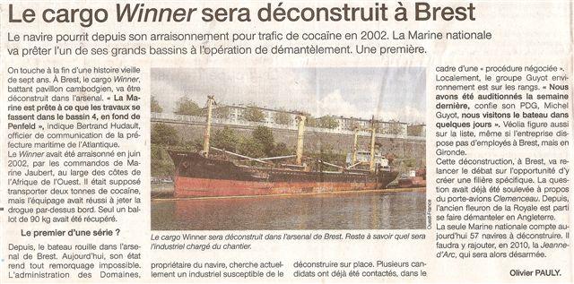 [Les ports militaires de métropole] Port de Brest - TOME 1 Numari45