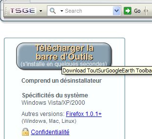 Barre d'outils TSGE. Tuto Clipbo77