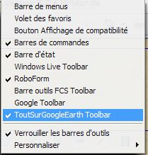Barre d'outils TSGE. Tuto Clipbo86