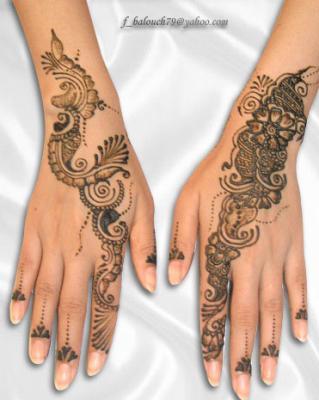 Tatouage au henné 48438610