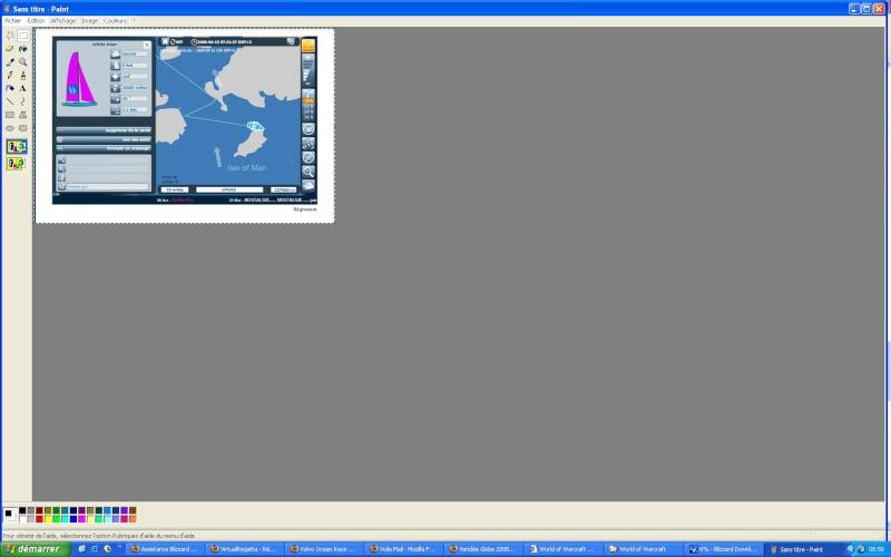 Vendée Globe 2008 : régate virtuelle - Page 26 Cours210