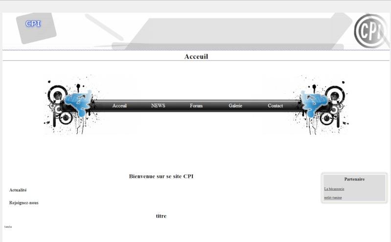 Site WEB ? Site11