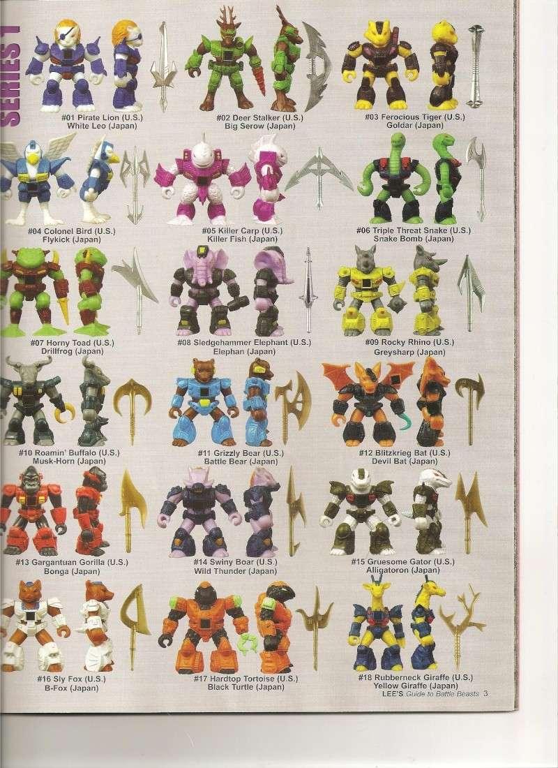 BATTLE BEASTS / Les Dragonautes (Hasbro, Takara) 1987-1988 Battle13