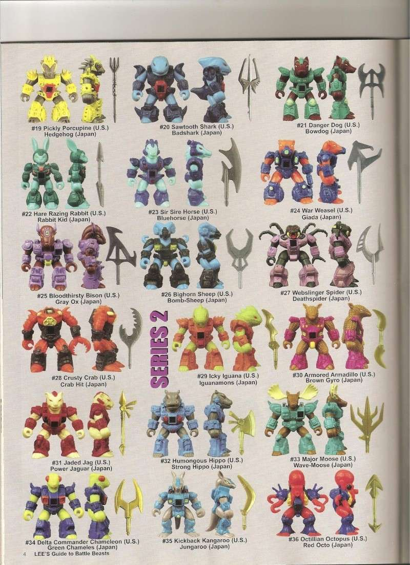 BATTLE BEASTS / Les Dragonautes (Hasbro, Takara) 1987-1988 Battle14