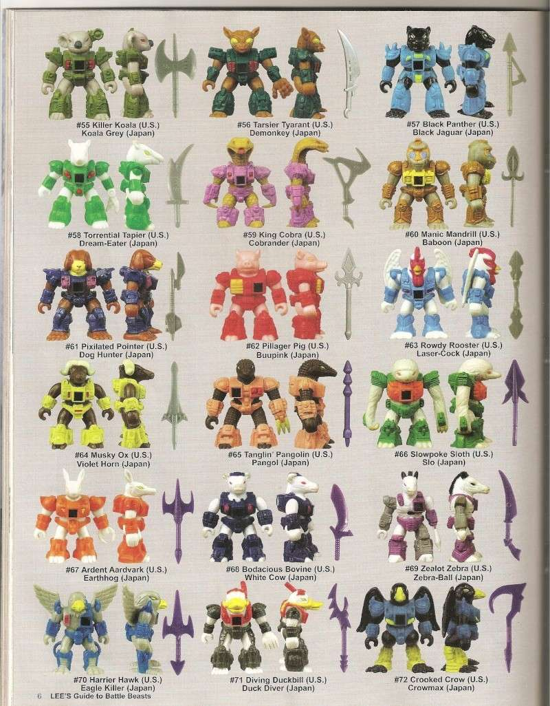 BATTLE BEASTS / Les Dragonautes (Hasbro, Takara) 1987-1988 Battle16